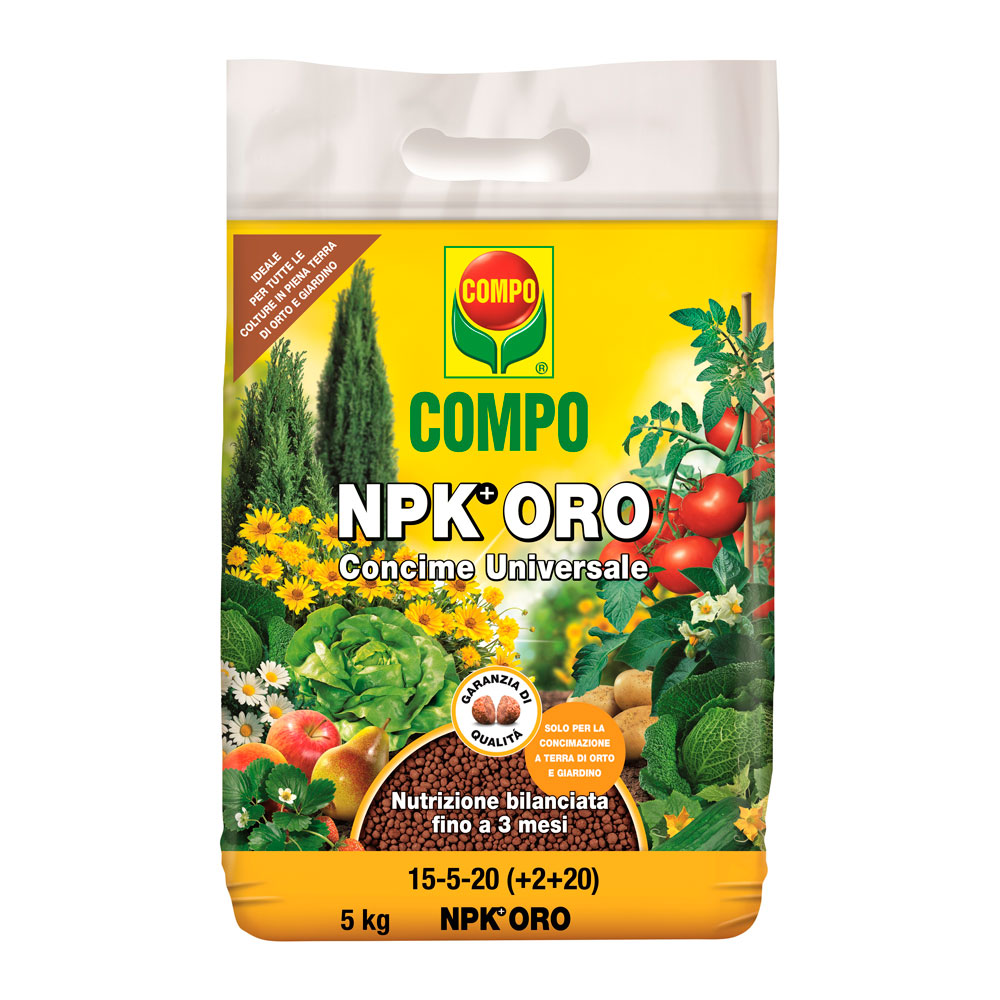 COMPO NPK ORO kg10 concime granulare completo